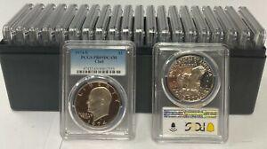 20 - 1974 S  Clad Eisenhower Ike Dollar PCGS PR69DCAM ( 20 Coin Set )