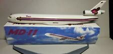 FLIGHT MINATURE THAI AIRLINES MD-11 1:200 SCALE PLASTIC SNAPFIT MODEL