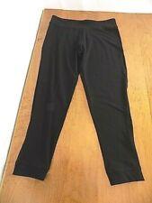 NEW Victoria's Secret Victoria Sport Yoga Pants Skinny Leg XL Extra Large Black