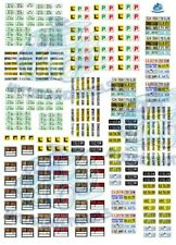 Number Plates, For Sale Signs and L Plates   Decals for Hot Wheels & Model Cars