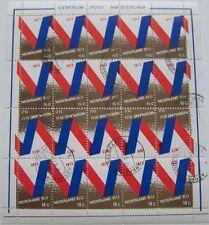 Stadspost Amsterdam - Compleet Vel 15 x 15c. + 5 x 18c. Nederland Blij 1973 gest