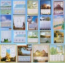 Kurzgardinen Scheibengardinen Bistrogardinen Panneaux Landhausgardinen Sets