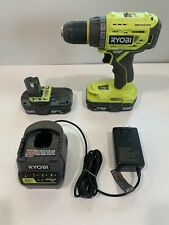 "RYOBI P252 18V Li-Ion ONE+ BrushLess 1/2"" Drill-Driver, w/ LED Light, xtra batt"