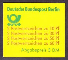 Germany Berlin 9N391d MNH 1980 Complete Booklet (See 2 Scans)