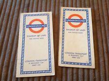 1959 & 1966 London Underground Maps