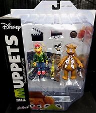 "The Muppets 7"" Scale FOZZIE & SCOOTER New! Disney/Diamond Select"