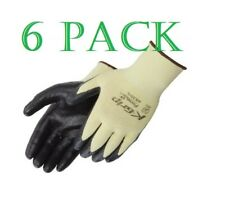 Liberty K-Grip Kevlar Foam Nitrile Dipped Palm Coated Glove 6 Pack X-S