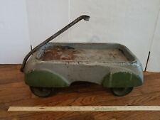 Vintage Steelcraft Zephyr c1930's Playboy Wagon PRESSED STEEL