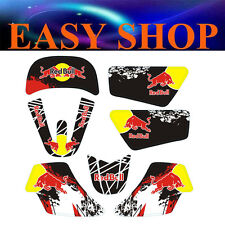 3M Red Bull Stickers Decal Kit Fairing YAMAHA PEEWEE 50 PW50 PY50 PIT DIRT BIKE