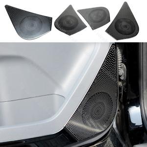 Fit for Ford Ranger 2015-2020 4pc black Steel Door Speaker Loudspeaker Box Cover