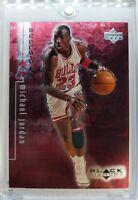 Rare: 1999 99 Black Diamond Double Diamond RED Michael Jordan #4, #'d /3000