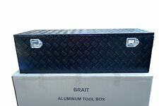 "49"" Aluminum Tool Box -Truck- ATV - Pickup - RV-Trailer -Storage - Black"