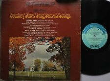 Country Lp Various Artists Country Stars Sing Sacred Songs On Rca