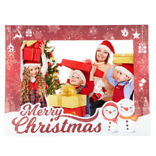 Birthday Decoration Photo Booth Picture Frame Paper Props Merry Christmas