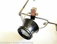 10x MAGNIFIER CLIP ON JEWELLERS EYEGLASS EYE GLASS MAGNIFYING LENS FOR GLASSES