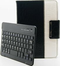 Crocodile style détachable clavier bluetooth rotatif cas Apple iPad Mini 2