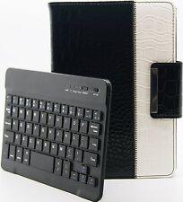 Crocodile Style Detachable Rotating Bluetooth Keyboard Case Apple iPad Mini 2
