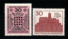 FEDERAL REPUBLIC OF GERMANY - GERMANIA REP. FED. - 1966-1967 - Soggetti diversi