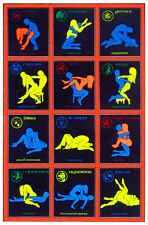 Sex Positions Kama Sutra Black Light Amazing Brand new BLacklight BRAND NEW!