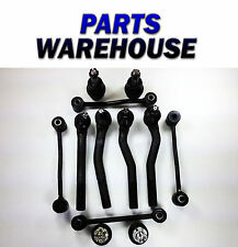 12Pc Brand New Tie Rod Ends Ball Joints Kit For Jeep Grand Cherokee 10 Year Wrty