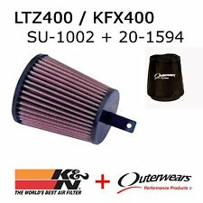 Z400 K&N Performance Air Filter with *FREE* Outerwears SU-4002 LTZ400 KFX