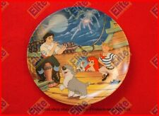 """The Little Mermaid Collectors Plate """"Fireworks at First Sight"""" by Knowles/Disney"""