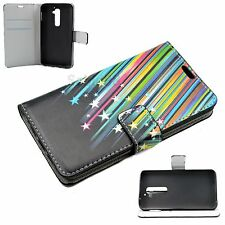 Cell Phone Wallet Book Flip Leather Cover Case Skin For LG G2 D802