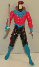 """1992 Gambit Remy Etienne LeBeau 4.75"""" Toy Biz Action Figure X-Men Marvel Comics"""