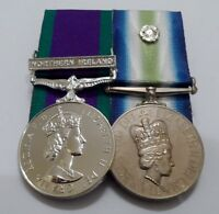 Court Mounted, Northern Ireland GSM, Falklands, South Atlantic, Full Size Medal