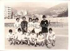 FOTO 1972 SQUADRA DI CALCIO ESORDIENTI ERG - CAMPO LIGORNA - GENOVA - C10-365