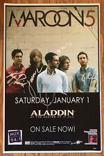 Maroon 5 Promotional Photo Signed In Person 2004