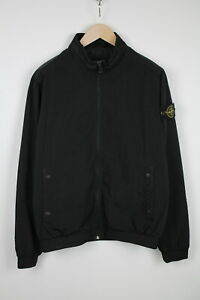 STONE ISLAND DAVID-OVD 240578 Men's LARGE Thin Water Resistant Jacket 38534-GS
