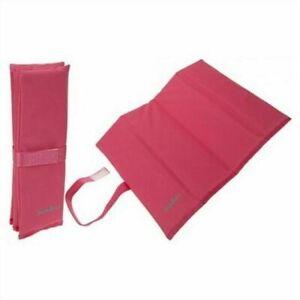 Summit Padded Folding Sit Mat Chair Pad Pink Hiking Camping Walking Festival UK