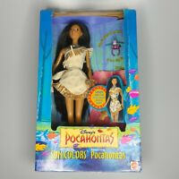 "1995 Mattel Disney Pocahontas Sun Colors ""Barbie"" W/ Bird Ring Vintage Authentic"