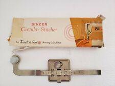 Vintage Singer Circular Stitcher for Touch & Sew Machines #161847