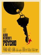 Psycho (Variant) Mondo Phantom City Creative Screenprinted Movie Poster Print