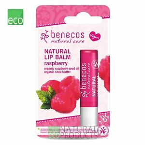 Benecos Natural Vegan Lip Balm Raspberry 4,8g