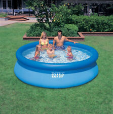 "10' x 30"" Easy Set Swimming Pool w/o Pump Intex Above Ground Inflatable Family"