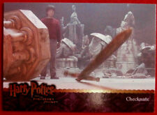 HARRY POTTER - SORCERER'S STONE - Card #078 - CHECKMATE - Artbox 2005