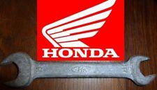 rare CLE moto HONDA 17 19 vintage collector trousse à outils 100% ORIGINAL key