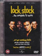 Lock, Stock...the complete TV series (DVD 2000) 2 Disc, Regions 2 & 4 Jewel Case