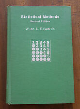College math textbooks 1950 1999 publication year ebay statistical methods second edition by allen l edwards 1967 hc textbook fandeluxe Choice Image