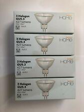 4 Kartons 3 X Halogen gu5.3 Birne 427 Lumen Glühbirnen Warm Glow