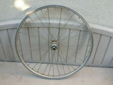 "Vintage 26"" Rigida Rally 30 Front Mountain Bike Wheel Diabolo Hub made in France"