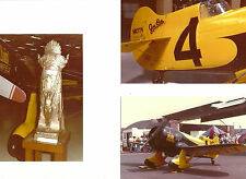 "SET OF 3: GEE BEE LOT #30 - 4"" X 6""  COLOR AIRPLANE PRINTS"