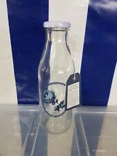 Katie Alice Glass Bottle Vintage Indigo collection