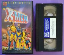 VHS Film Ita Animazione Insuperabili X-MEN Mini Movie marvel fFOX no dvd(V21)