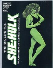 Marvel Graphic Novel #18    The Sensational She Hulk   1985