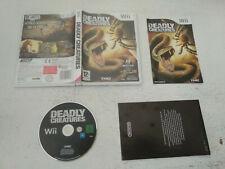 Deadly Creatures Nintendo Wii FR