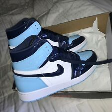 Jordan 1 High UNC Patent (Blue Chill) - Size 10W (8.5 Men's) - Brand New